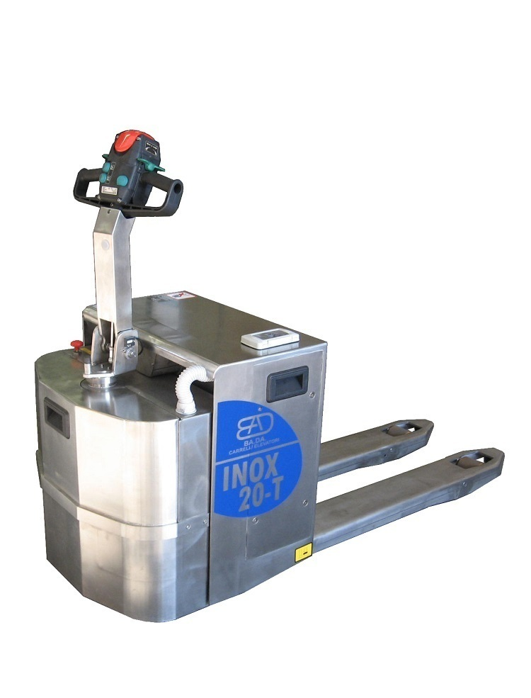 20-T Stainless steel pallet truck capacity from 2.000 Kg