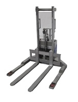 10-SE Stainless steel stacker with electric lift capacity from 1000 Kg