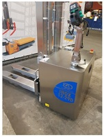 12 Stainless steel electric stacker capacity from 1.200 Kg
