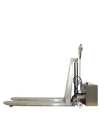 TMS-80E Stainless steel electric high-lifter pallet truck capacity 1000 Kg
