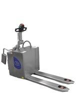 20-TP9 Stainless steel ride-on pallet truck capacity from 2000 Kg