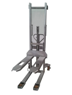 10-M Manuele RVS stapelaar hefvermogen 1.000 Kg