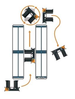 OMG FIORA PK-S Electric multidirectional sideloader