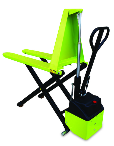 HX10 E electric high lift pallet truck poly 1150x540 mm 1000 kg