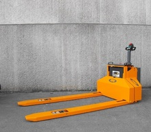 350BE-LF Custom made electric pallet truck with special forks