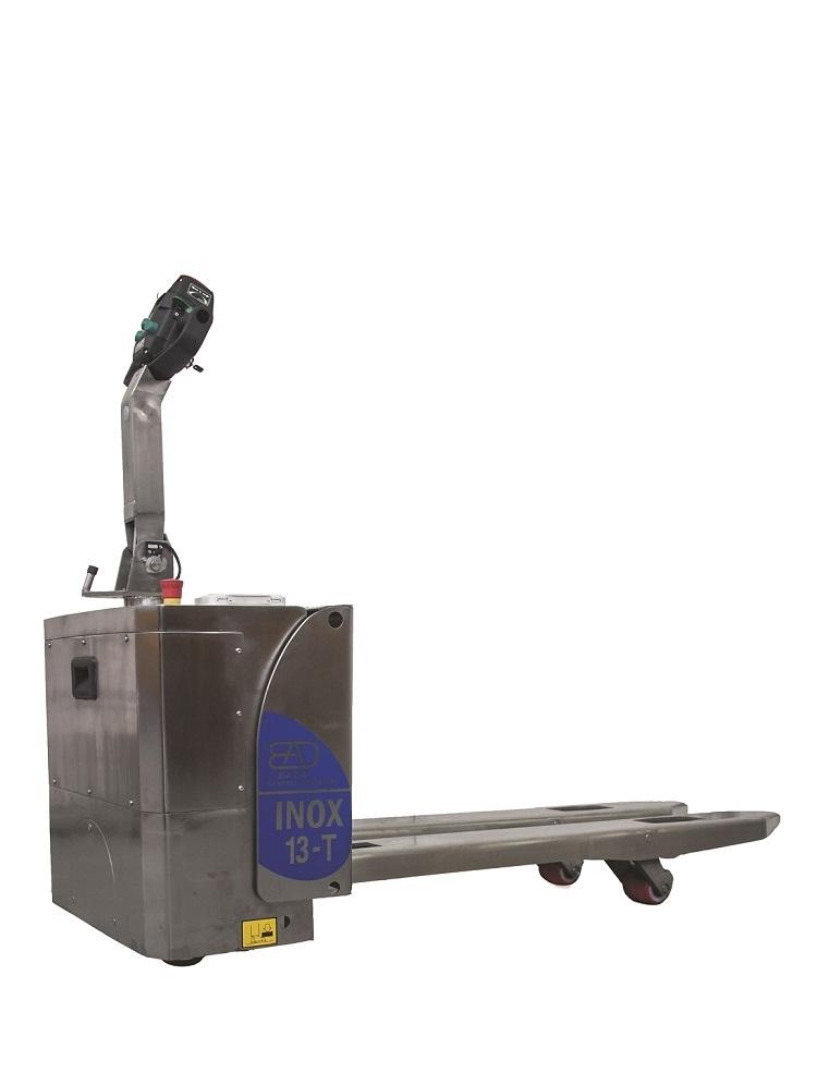 13-T Elektrische RVS pallettruck hefvermogen vanaf 1300 Kg