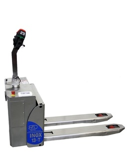 13-T Stainless steel electric pallet truck capacity from 1300 Kg