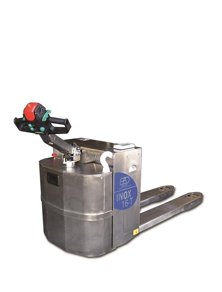 16-T Transpalette électrique INOX capacité de levage à partir de 1600 Kg