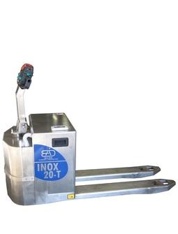 20-T Transpalette électrique INOX capacité de levage à partir de 2000 Kg