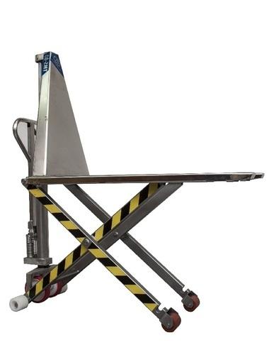 TMS-80 Stainless steel highlifter pallet truck capacity 1000 Kg