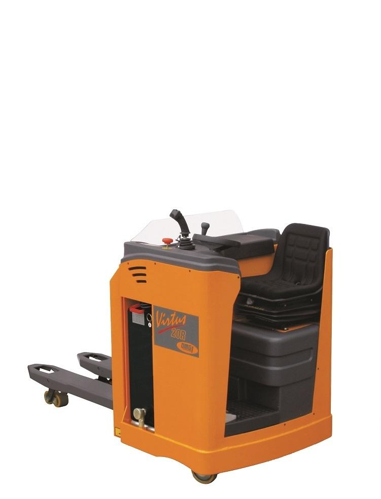 Elektrische pallettruck OMG Virtus AC 20 R en 30 R vanaf 2000 kg