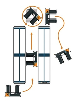OMG FIORA CE 15-20 Electric multidirectional sideloader