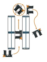 OMG FIORA COMPACT 30-40 Electric multidirectional sideloader