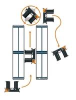 OMG FIORA H 40-50-60 Electric multidirectional sideloader