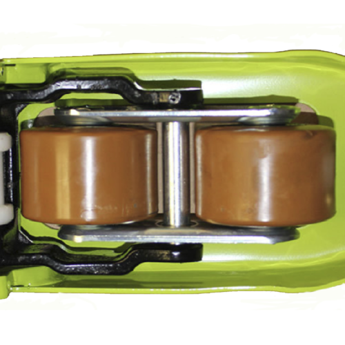 GS EVO rubber double Polyurethane fork wiel 1150x525 mm 2500 kg