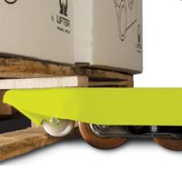 GS EVO nylon enkel vorkwiel nylon 1150x525 mm 2500 kg