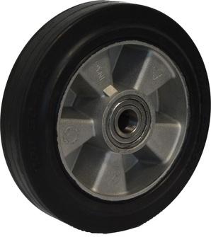 GS PRO rubber dubbel vorkwiel Polyurethaan 800x525 mm 2500 kg