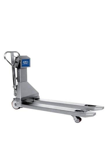 TMB-20 stainless steel pallet truck with weighing scale 2000 Kg
