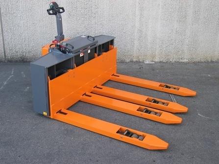 360BE-4F Maatwerk pallettruck met 4 vorken
