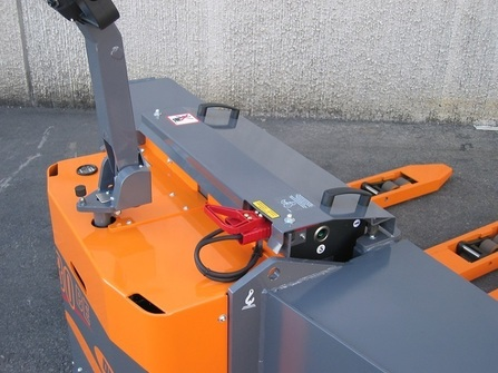 360BE-4F Custom made electric pallet truck with 4 forks