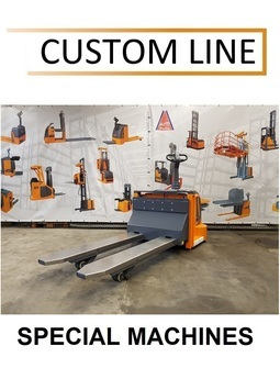 370P5-FAI Custom made electric pallet truck for use in clean-room