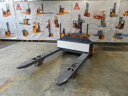 380P5-BLK Transpalette sur mesure entre fourches extra large