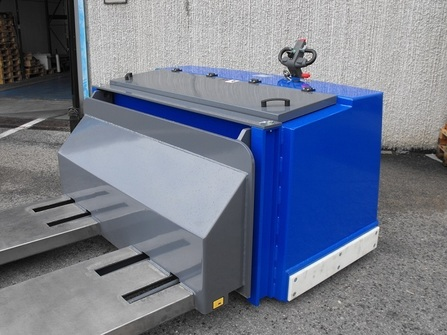 775BM-FAI Maatwerk pallettruck voor de clean-room industrie