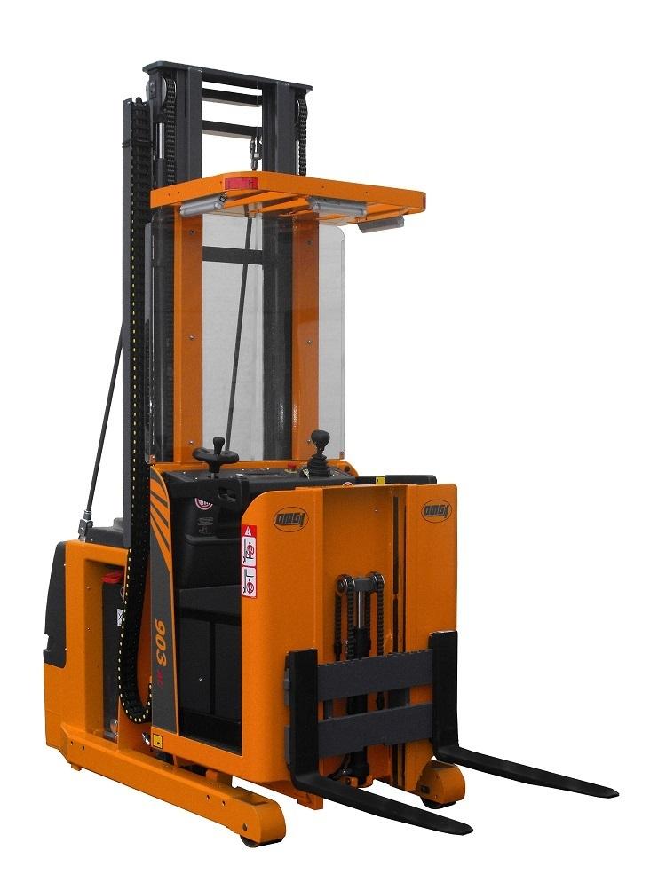 Préparateur de commandes OMG 903 à partir de 600 kg élévation jusqu'à 5.500 mm
