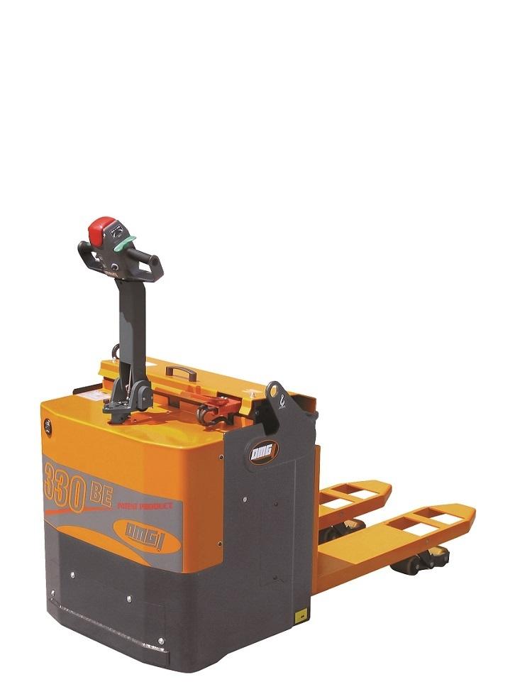 OMG 330 BE Elektrische pallettruck dubbel Tractie motor vanaf 3.000 Kg