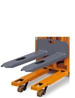 OMG Modus BM Q = à partir de 1500 kg gerbeur avec fonction transpalette