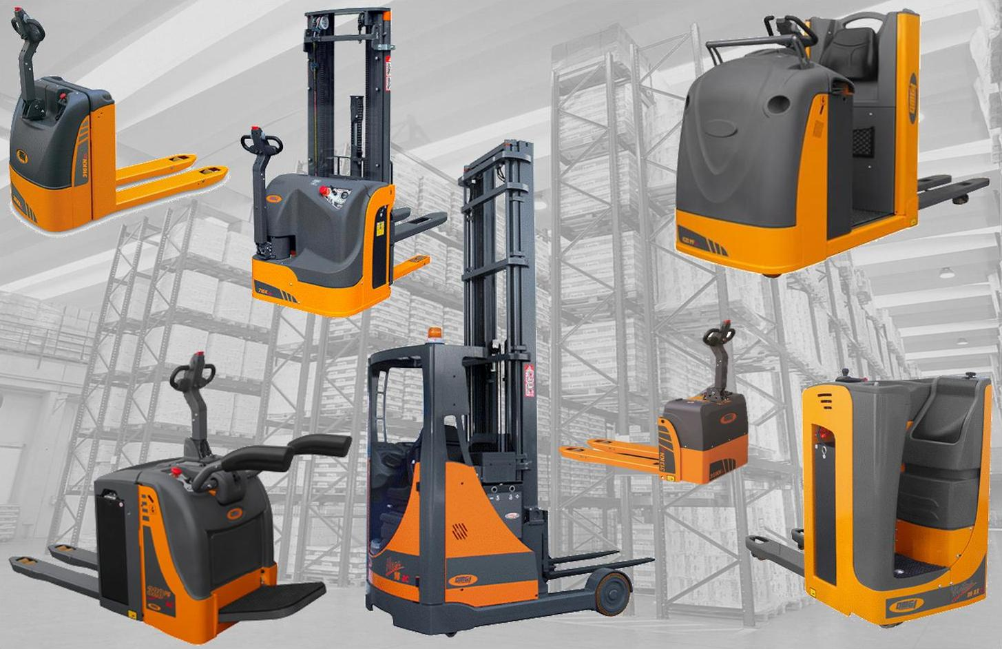 Forklift trucks and omg Material handling